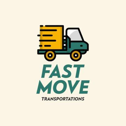 Logo Maker for an Efficient Moving Company 693c-el1