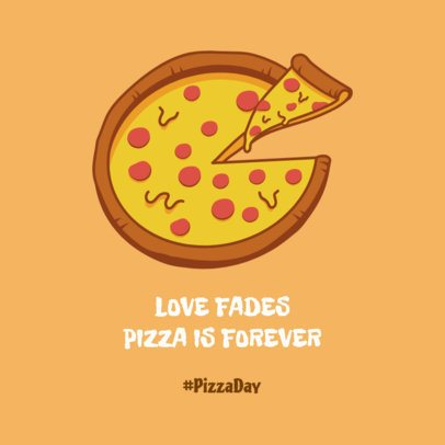 Cool Facebook Post Maker For Pizza Day 2210d