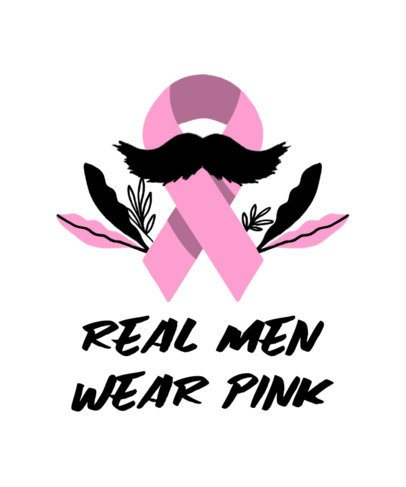 T-Shirt Design Maker with a Pink Ribbon for Cancer Awareness 2164m
