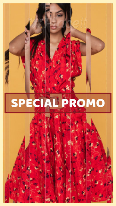 Instagram Story Video Maker for a Spring Special Promo 1355a 45