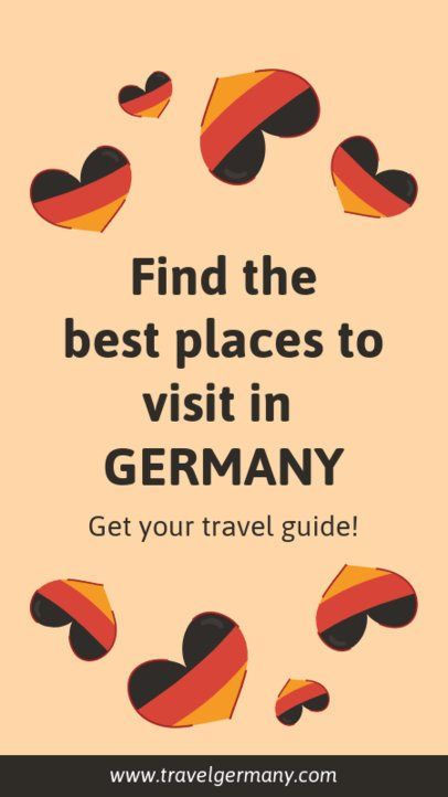 Instagram Story Maker for a Travel Coupon to Germany 2232