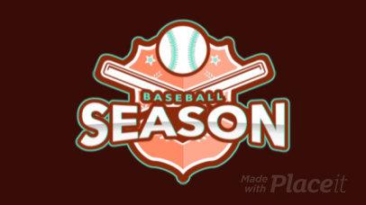 Animated Baseball Logo Template for Sport Teams 172oo-2931