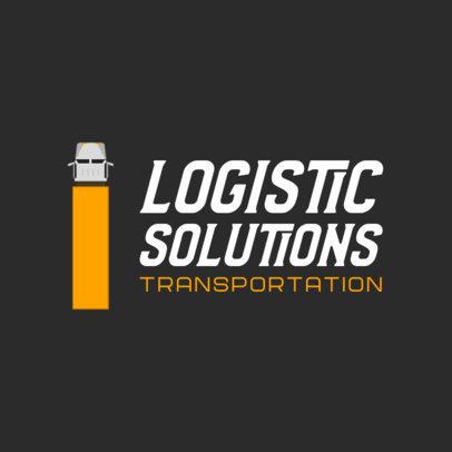 Simple Logo Maker for a Logistics Company 749a-el1