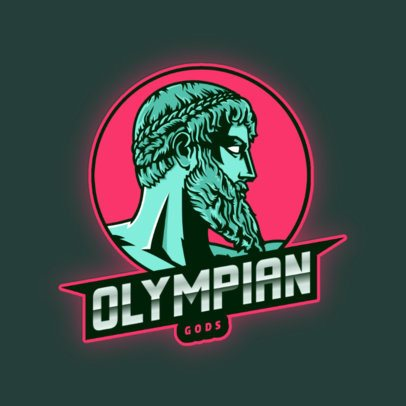 Logo Maker Featuring an Olympian God 2920e