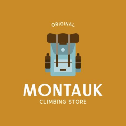Simple Logo Creator for a Climbing Store 817a-el1