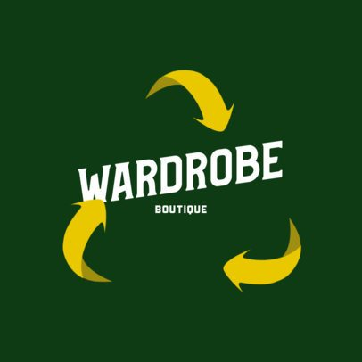 Logo Maker for a Second-Hand Wardrobe Boutique 2923g