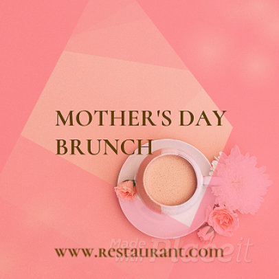 Instagram Video Maker for a Mother's Day Event at a Restaurant 859b-1720