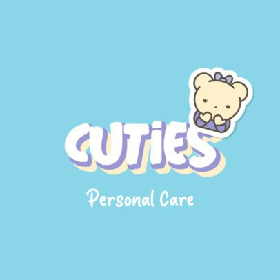 Personal Care Brand Logo Creator with a Sweet Illustration 2949b
