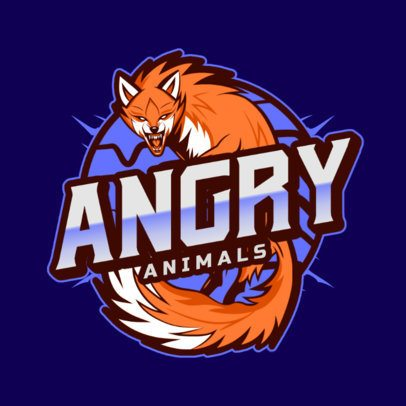 Gaming Logo Maker Featuring Aggressive-Looking Animal Graphics 2975