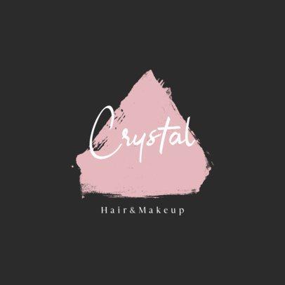 Beauty Studio Logo Template Featuring a Feminine Handwritten Typeface 887a-el1