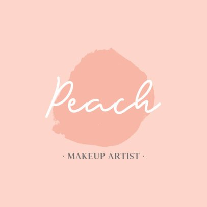 Minimalist Logo Template for Makeup Artists 887B-el1