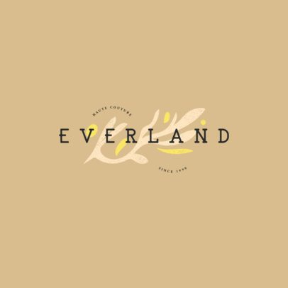 Logo Generator for a Trendy Clothing Brand with Abstract Icons 2979c