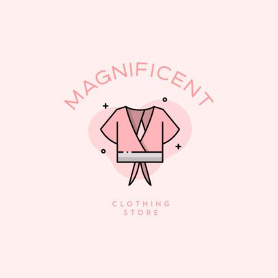 Logo Maker for Clothing Stores Featuring Simple Apparel Illustrations 918-el1