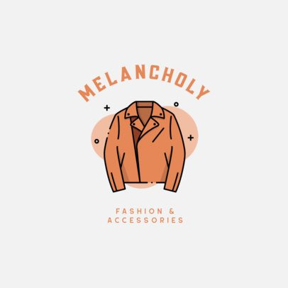 Online Logo Template for a Vintage Apparel and Accessories Store 918a-el1