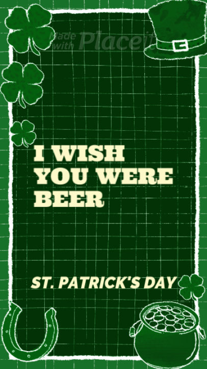Instagram Story Video Maker To Celebrate St. Patrick's Day 943c 886
