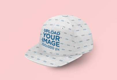 Mockup of a Sublimated Hat with an Embroidered Logo 3041-el1
