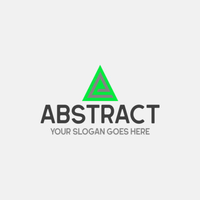 Online Logo Generator Featuring Abstract Geometric Shapes 455-el1