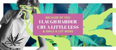 Facebook Cover Maker with a Marijuana Theme 2376