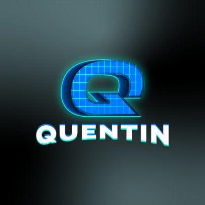 Gaming Logo Generator with a Retro Design 3070e