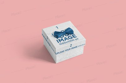 Mockup Featuring a Small Gift Box 3454-el1