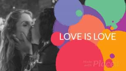Facebook Cover Video Template for an LGBT-Ally Page 1571