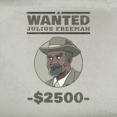 Logo Maker for a Gaming Squad Inspired by Red Dead Redemption 3091d