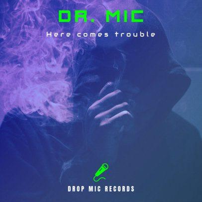 Chill Hip-Hop Album Cover Design Template 465a