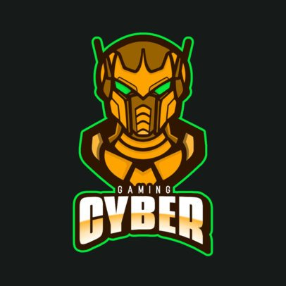 eSports Logo Generator Featuring an Imposing Android 800d-el1
