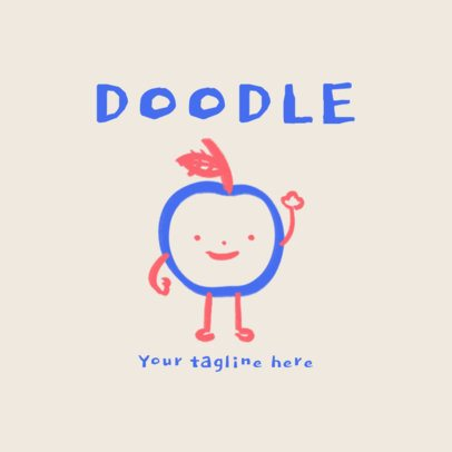 Online Logo Maker Featuring Cute Doodles 3116