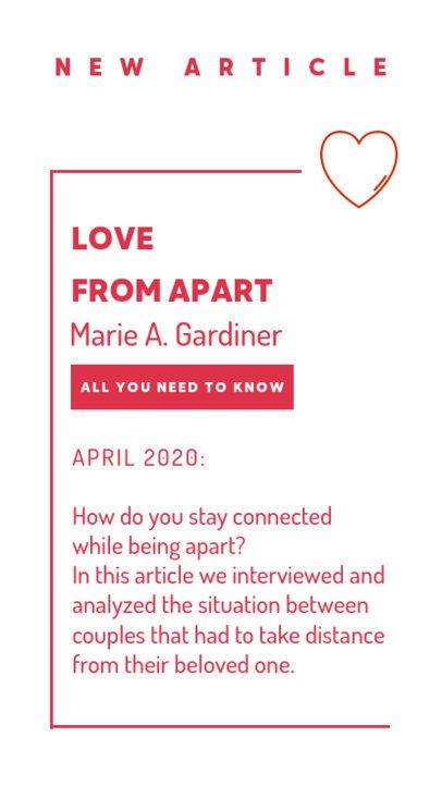 Instagram Story Maker Long-Distance Relationships Content 807b-el1