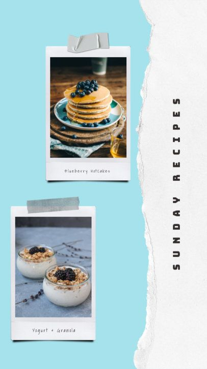 Instagram Story Generator with Breakfast Photographies 823b-el1