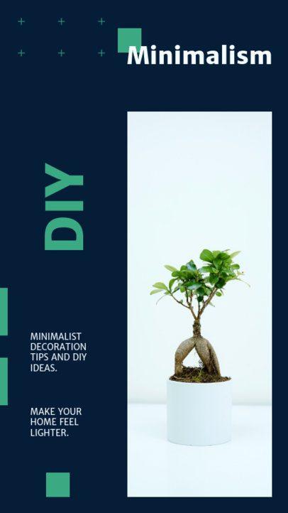 Instagram Story Creator with DIY Plant Decorations 815c-el1