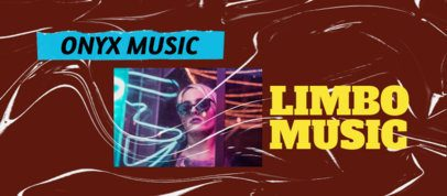 Facebook Cover Creator for a Music Page Featuring a Textured Paper Background 2443h