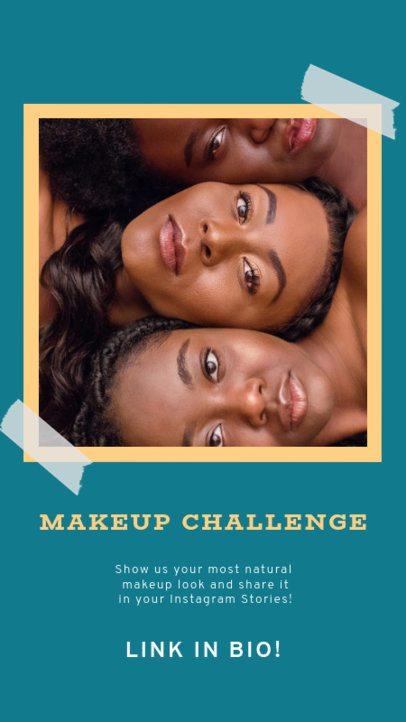 Instagram Story Maker for a Makeup Challenge 929c-el1