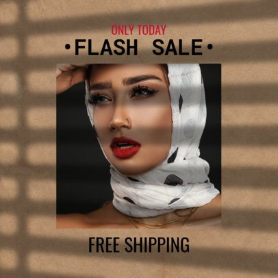 Fashion-Forward Instagram Post for a Flash Sale Announcement 2456e
