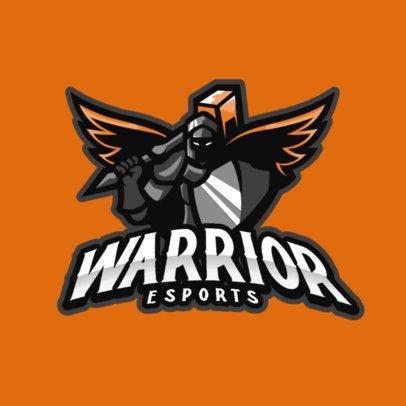 Logo Maker for eSport Teams Featuring Fierce Characters 887-el1