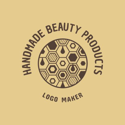 Organic Logo Maker for a Handmade Products Store 3170