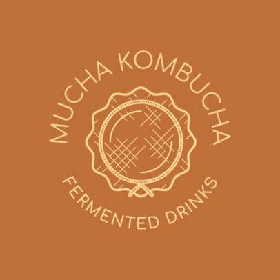 Logo Maker for a Fermented Drinks Brand 3170a
