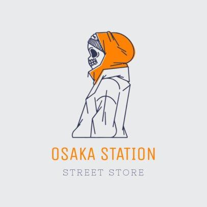 Streetwear Logo Generator With Hand-Drawn Illustrations 3169g