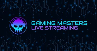 Twitch Banner Maker for a Livestream Gaming Channel 2469a
