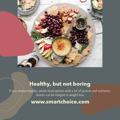 Instagram Post Maker for a Healthy Food Post 1120a-el1
