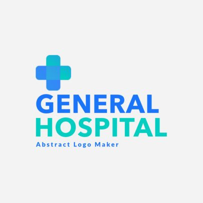 Modern Logo Template for a Medical Center 3212