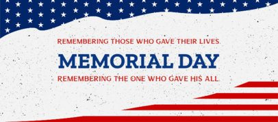 Facebook Cover Template for a Memorial Day Festivity 2487c