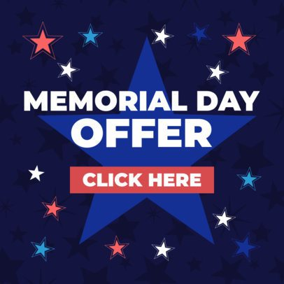 Banner Maker for Memorial Day Sales 2488