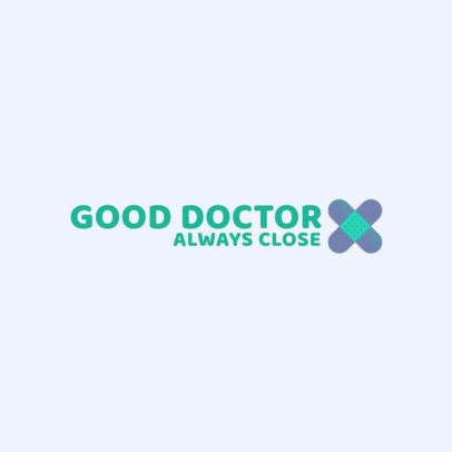 Doctor Logo Creator with a Band-Aid Graphic 3211d