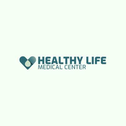 Lovely Logo Generator for a Medical Center 3211e