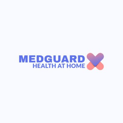 Medical Logo Creator with a Heart Icon 3211f