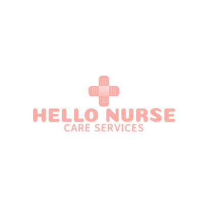 Logo Maker for a Nursing Services Company 3211g