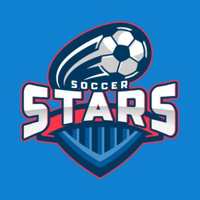 Sports Logo Maker for a Soccer All-Star League 1298e-el1