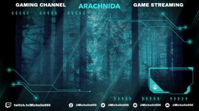 Twitch Overlay Creator Featuring a Semi-Transparent Layout 2511l